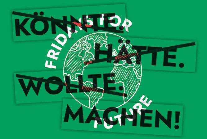 neulich bei «Fridays for Future» in Eggenfelden…
