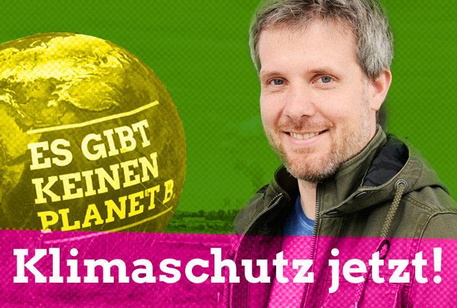 Dieter Janecek - Klimaschutz jetzt