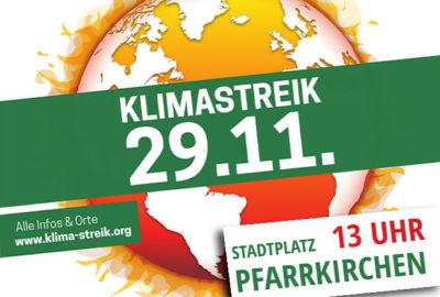 Klimastreik am 29.11.2019