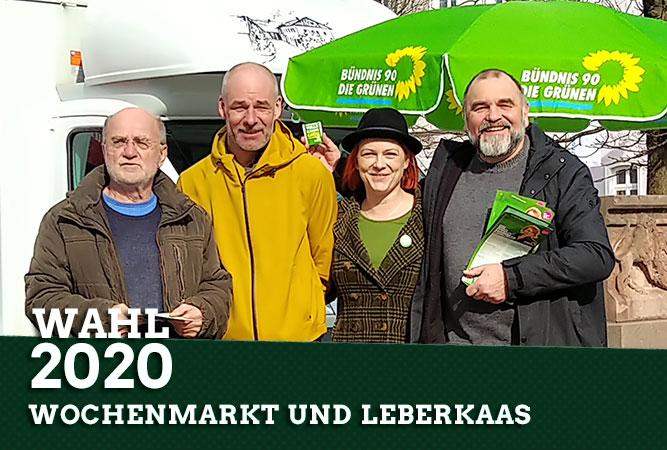 Wochenmarkt und Leberkaas