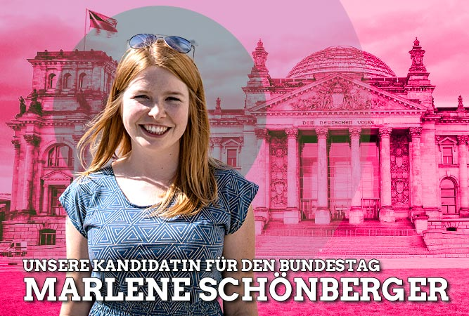 Marlene Schönberger will in den Bundestag