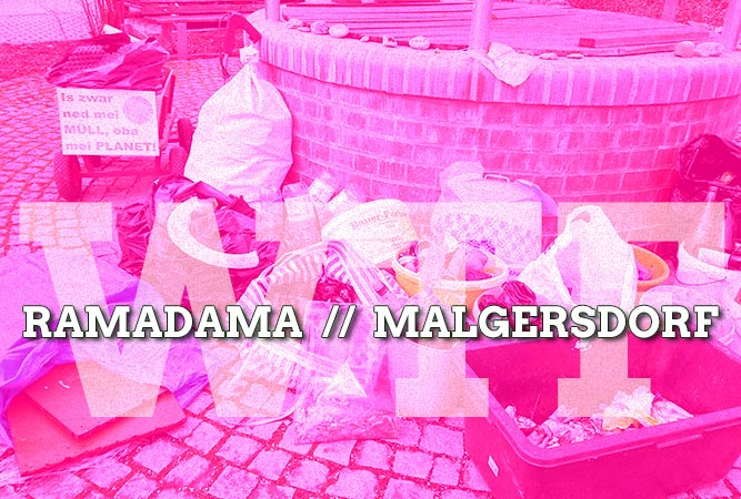 Ramadama um Malgersdorf – die Grünen machen Frühjahrsputz