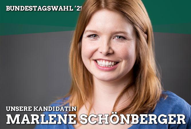 Marlene Schönberger zur Direktkandidatin der GRÜNEN im Wahlkreis 230 gewählt.