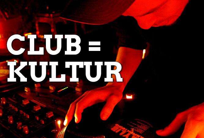 Clubs sollen endlich als Kulturorte anerkannt werden