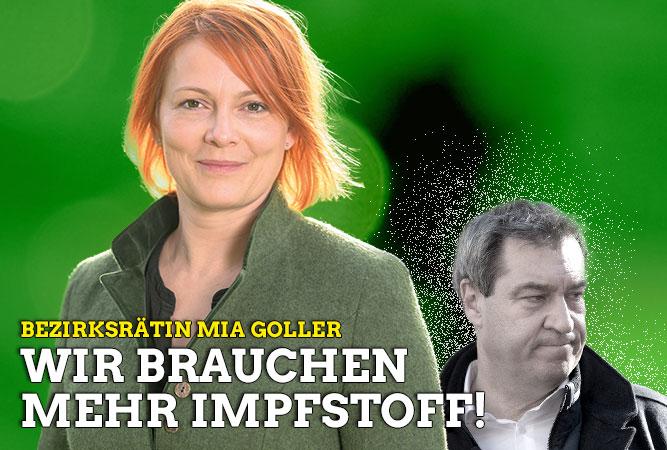 Offener Brief von Mia Goller an Ministerpräsidenten Dr. Markus Söder