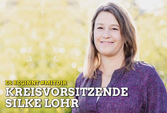 Es beginnt #MITDIR: Silke Lohr