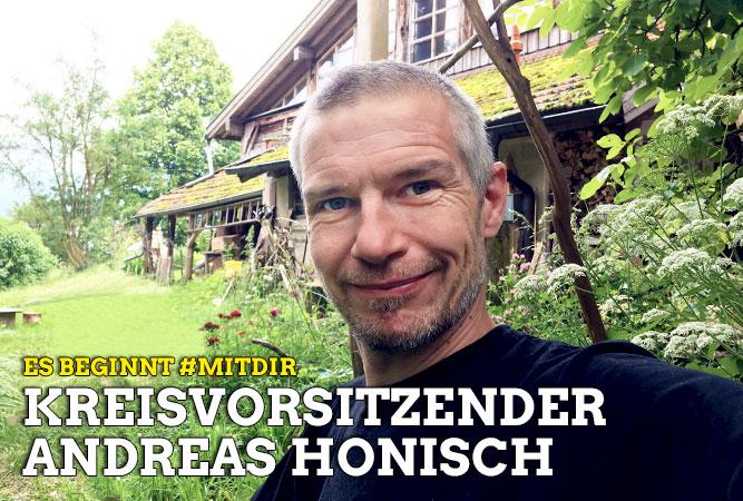 Es beginnt #MITDIR: Andreas Honisch