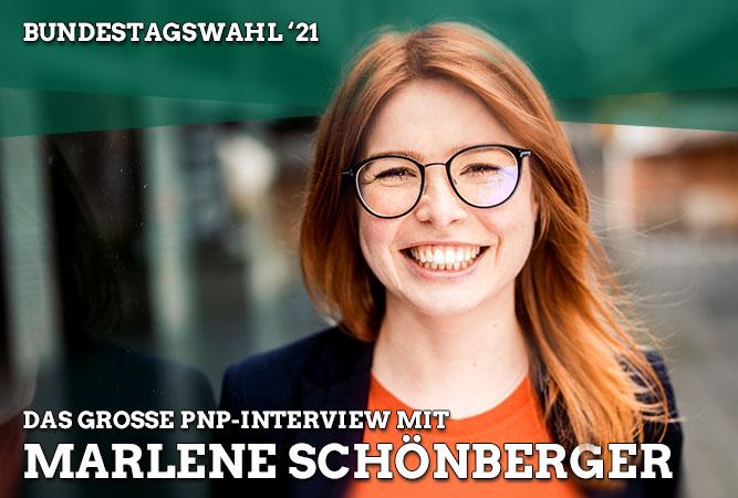 PNP-Interview mit Marlene Schönberger